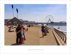 Smartphone world (Parallax Corporation) Tags: smartphone selfie tourists besidetheseaside blackpool promenade centralpier beach sunnyday sonyfe55mmf18