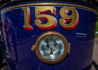 Tram number 159