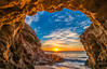 Beautiful Beach Scenery! Epic High Resolution Malibu Landscape Seascape Sunset! Malibu Sea Cave Sunset California Socal Photography! Fine Art Landscape & Nature Photography: Light Beams & Dr. Elliot McGucken Epic Fine Art! Stormy Skies Scenic Vista! (45SURF Hero's Odyssey Mythology Landscapes & Godde) Tags: epic high resolution malibu sunset sea cave california socal photography fine art landscape nature light beams dr elliot mcgucken seascape stormy skies red orange ocean beach