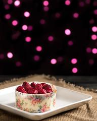 Vegan raspberry cheesecake (denver guy) Tags: vegan cheesecake veganfood dessert veganfoodporn