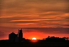 Fulls Siding Elevator Sunset (Ray Cunningham) Tags: fulls siding elevator sunset st joseph illinois