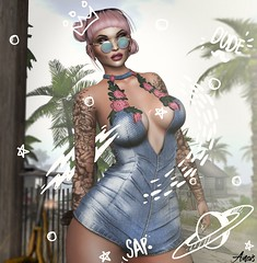 Sound Of A Woman.. (Anais Maelle) Tags: art blogger cosmopolitanevent creative fashion fashionnatic identity italian kokolores maelleanais sanaraeevent secondlife style treschicevent ultraevent versov