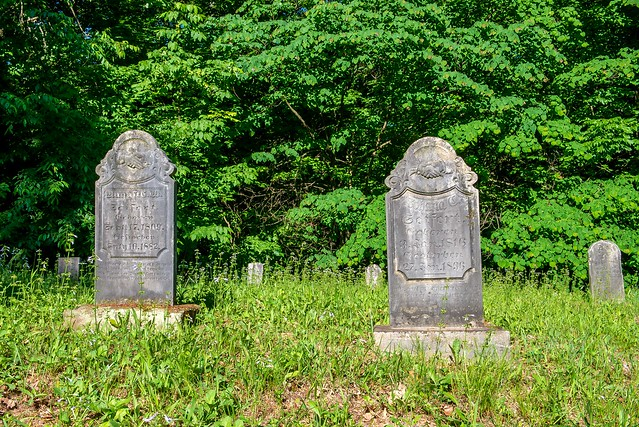 Hoosier National Forest - German Ridge Cemetery - May 24, 2018