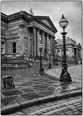 Street to Walker Art Gallery, Liverpool (S.R.Murphy) Tags: april2018 architecture liverpool building walkerartgallery street cobbledstreet cobbles bw bnw blackandwhite whiteandblack mono monochrome urban urbanlandscape england greatbritain unitedkingdom fujifilmxt2 fujifilmxf1855mm lowhill