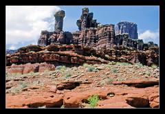 Utah is Another World - Canyonlands Nat. Park, 1989 (sjb4photos) Tags: utah canyonlandsnationalpark epsonv500 utahredrock linottingertours