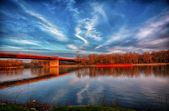 Golden Evening along the Illinois (kendoman26) Tags: hss happyslidersunday hdr nikhdrefexpro2 nikcoloreffex4pro niksoftware nikon nikond7100 tokinaatx1228prodx tokina tokina1228 travelillinois enjoyillinois morrisillinois goldenhour river illinoisriver