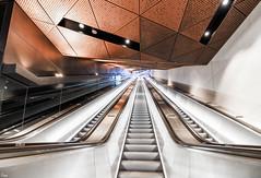 escalator (TeRo.A) Tags: aaltoyliopisto helsinki metro länsimetro portaat escalator otaniemi rullaportaat asema station