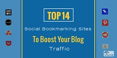 Top 14 Social Bookmarking Sites To Boost Your Blog Traffic (QTopTips) Tags: boost your blog traffic top social bookmarking websites