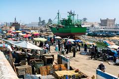 Fishmarket (Guy Goetzinger) Tags: goetzinger nikon d500 africa morocco essaouira atlantic vage vacancy travel harbour port ship fisher boot fishmarket hafen market people 2018 top best