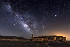 Milky Way, Meteor, and Abandoned Home (slworking2) Tags: jacumba california desert milkyway urbex abandoned home meteor astronomy sky sandiego night nighttime nightsky