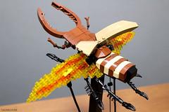 Stag Beetle Automata (Takamichi Irie) Tags: lego brick stag beetle automata diotama insect bug move