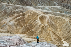 Zabriskie Point, Death Valley III (kkorsan) Tags: california deathvalley deathvalleynaturalpark furnacecreek rockformations badlands desert travelphotography zabriskiepoint unitedstates