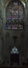 NH0A9961[pano] (michael.soukup) Tags: amiens france basilica cathedral notredame somme gothic church spire facade rosewindow crossing portal architecture nave apse buttress transept catholicchurch stainedglass sculpture choir aisle window organ interior building