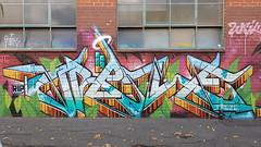 DVATE: 'Treze'... (colourourcity) Tags: streetart streetartaustralia streetartnow graffiti melbourne burncity awesome colourourcity nofilters original walkingthestreets burner heater dvate dv8 adn sdm mdr f1 f1c treze