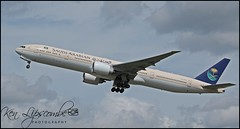 HZ-AK18 Boeing 777-368ER c/n 1055 Saudia-Saudi Arabian Airlines (EGLL) 03/05/2018 (Ken Lipscombe <> Photography) Tags: hzak18 boeing 777368er cn 1055 saudiasaudi arabian airlines egll 03052018 heathrowairportlondon