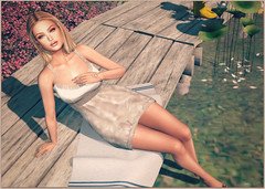 SLovesadventures:  Lucky Just To Linger In Your Light (Love Trill) Tags: doux aphorism elleboutique glamaffair strawberrylake alaskametro