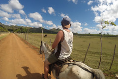 Horse ride (Juha Helosuo) Tags: cuba trinidad caribbean countryside ride riding horse landscape nature moment travel traveller photography gopro hero3 black edition fisheye good life explore sanctispiritus