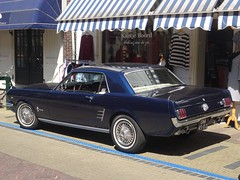 1966 Ford Mustang (harry_nl) Tags: netherlands nederland 2018 naarden ford mustang dm4502 sidecode1 import