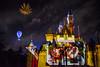 Together Forever — A Pixar Nighttime Spectacular - Disneyland fireworks show - Up projection (GMLSKIS) Tags: disney nikond750 anaheim california pixar disneyland fireworks sleepingbeautycastle