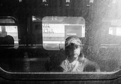 Hello (marcin baran) Tags: bnw black blackwhite bw mono monochrome city urban street streetphotography stranger kid child girl window light shadow shadowplay katowice poland polska candid candidphotography candidshot fuji fujifilm fujix100 x100t
