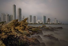 At daylight (karinavera) Tags: city longexposure photography cityscape urban ilcea7m2 cartagena daylight