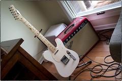 "Hahn ""Jim Campilongo"" Model C With Fender PRRI, May 12, 2018 (Maggie Osterberg) Tags: olympus penf mzuiko1718 maggieo lincoln nebraska guitar telecaster hahnguitarsjimcampilongo modelc fender amplifier princetonreverb prri colorefexpro4 olympusm17mmf18"
