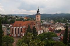 """Baden-Baden, katholiche """"Stiftskirche"""" (2) (mgheiss) Tags: badenbaden stiftskirche catholic katholisch olympus pen epl1"""