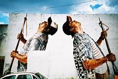 Cozumel (cranjam) Tags: lomo lca lomography film slide xpro expired kodak elitechrome100 mexico messico yucatán cozumel quintanaroo streetart graffiti