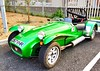 Kit car (Janardan das) Tags: windscreen bonnet muffler exhaust fender suspension wheeltims wheels tyres racing greencar automobil automobile unlimitedphotos automotive engineering engine chassis modified modifiedcars kitcar cars