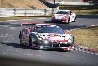 #22 Ferrari 488 GT3 - Georg Weiss/Oliver Kainz/Jochen Krumbach - Wochenspiegel Team Monschau