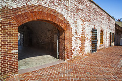 Fort Macon NC - Bricks (Modkuse) Tags: nikonfx northcarolina fortmacon fortmaconnc fort historicalfort bricks nikon nikondslr nikond700