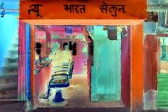 India - West Bengal - Ghum - Barber Saloon - 3bb (asienman) Tags: india westbengal ghum streetlife asienmanphotography asienmanphotoart asienmanpaintography