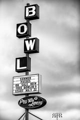 Pro 300 Lanes (Thomas Hawk) Tags: america oregon pdx portland pro300lanes usa unitedstates unitedstatesofamerica westcoast bowling bowlingalley neon neonsign us fav10 fav25