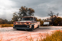 Rust-Eze (cj_levendal) Tags: patina chevrolet c10 oldschool bagged bodyshop stance stancenation stanceworks stanced wheels forgiato truck slammed trees