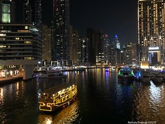Dubai Marina at Night. (Belinda Fewings (3 million views. Thank You)) Tags: belindafewings sonydschx400v bokeh city street seaside colour colourful artistic pbwa creative arty beautiful beautify beauty lovely outdoors outside best depthoffield garden color colours colors interesting interest dubai uae night