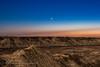 Venus, Pleiades and Hyades in Twilight (Amazing Sky Photography) Tags: 2018 april27 badlands canon60da drumheller horsethiefcanyon hyades pleiades reddeerriver sunset taurus twilight venus setting