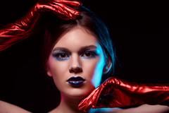 Alesya (TRUE.panda) Tags: za zeiss carlzeiss a850 sony sonnart18135 studio saintpetersburg spb portrait posing model models modeling makeup beauty