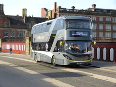 Blackpool 447 180130 Preston (maljoe) Tags: blackpooltransport blackpool preston railreplacement alexanderdennis