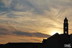 Sunset (morbidtibor) Tags: croatia dubrovnik adriatic sunset church tower belltower ragusa