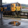 Puddled ! (Stapleton Road) Tags: platform rain puddle class73 73965 wet dover