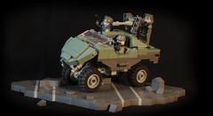 M12 Light Reconnaissance Vehicle (Warthog) (iTomWalker) Tags: halo lego moc afol warthog unsc photography