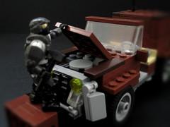 The 4S-Puma Jeep (underneath bonnet) (JellyBeanie81) Tags: halo lego megabloks jeep spartan unsc marine military wetworks