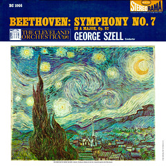 Beethoven Symphony 7 - Szell Epic 1 (sacqueboutier) Tags: vintage vinyl vinylcollection vinyllover vinylnation vinylcollector lp lplover lps lpcollection lpcover lpcollector lpcoverart lpcoverlover records record classical classicalmusic music epic vangogh starrynight impressionism fineart art