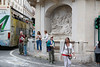 Quattro Fontane, The River Aniene, Rome (Kurtsview) Tags: italy rome quattrofontane fountains street streetview people tourists tourbus historicsite architecture historicarchitecture