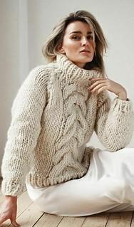 Sexy turtleneck knitwear