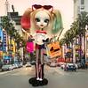 Harley's been shopping!! (alexmadalton) Tags: pullip toys batman joker harleyquinn ooak custom doll girls superhero dc