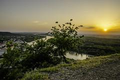 Sunset in Hainburg on the Danube (a7m2) Tags: hainburg braunsberg danube loweraustria natur karpaten slovakia bratislava schifffahrt sonnenuntergang sunset