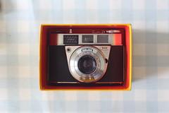 Camera of the Day - Boxed Kodak Retinette IB (Type 037 - 'Fat Boy' ) (TempusVolat) Tags: kodak retinette ib 037 film 35mm vintage garethwonfor tempusvolat gareth wonfor tempus volat mrmorodo