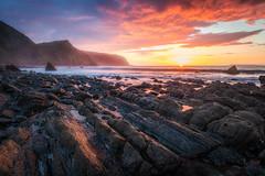 Fire Island (Rich Walker75) Tags: beach sunset devon beaches cloud sky landscape landscapes landscapephotography sea seaside seascape seascapes coast coastline coastal canon efs1585mmisusm england eos eos80d