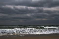North Carolina Beach Storm (Modkuse) Tags: nikonfx nc northcarolina beach storm stormclouds stormyday stormysea clouds cloudscape cloudyday cloudy nikon nikondslr nikond700 tokina tokinaaf2870mmf2628 waves oceanwaves atlantic atlanticocean